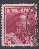 ESPAÑA - SPAGNA - SPAIN - ESPAGNE- 1924 - Yvert 285, Usato. - 1889-1931 Regno: Alfonso XIII