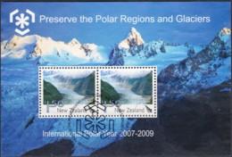 New Zealand 2009 International Polar Year 2007 - 2009 Minisheet Used - Nouvelle-Zélande
