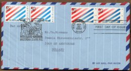 1982 NL/USA Diplomatic Relations Pair FDC With USA ISSUES - FDC