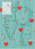 Australia Maximum Card Mi 3659 - Postal Stationery - Precious Moments - Love Hearts - 2012 - Maximumkaarten