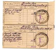 CAMBODGE Frais De Séjour 1941  HOPITAL DE PREY-VENG  CACHET PERCEPTEUR  DE PREY-VENG  PROTECTORAT DU CAMBODGE - Seals Of Generality