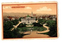 1921 Kingdom Of Yugoslavia - Croatia - Zagreb - Trg Franje Josipa / Trg I - Yugoslavia