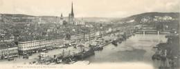 """CPA PANORAMIQUE FRANCE 76 """"Rouen, Vue Générale Prise Du Pont Transbordeur"""" - Rouen"""