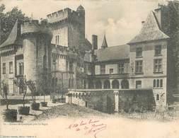 """CPA PANORAMIQUE FRANCE 24 """"Le Bugue, Chateau De Campagne"""" - France"""