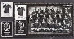 New Zealand 2010 Maori Rugby 100 Years Set Of 2 + Minisheet Used - New Zealand