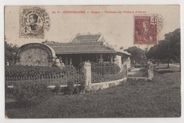 8859  Vietnam Cochinchine Saigon Tombeau Stamping Indo-Chine - Viêt-Nam