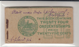 U.S. / Stamps Booklets - Postal History