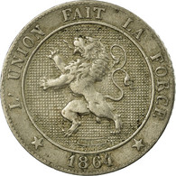 Monnaie, Belgique, Leopold I, 5 Centimes, 1862, TB+, Copper-nickel, KM:21 - 1831-1865: Léopold I