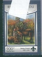 Niger 2017 Baden Powell And Dog Chien MNH 1V - Niger (1960-...)