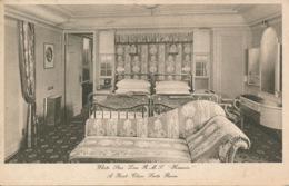 PC88301 White Star Line. R. M. S. Homeric. A First Class Suite Room. 1928 - Ansichtskarten