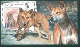 Solomon 2013 Dingo Dog Chien MNH 1V - Solomon Islands (1978-...)