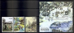 KOSOVO 2019,NATIONAL PARK BLINAJA,FAUNA,BLOCK,MNH - Kosovo
