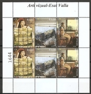 KOSOVO 2019,VISUAL ART,ESAT  VALLA,PAINTING,PICTURE,MNH - Kosovo
