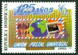 DOMINICAN REPUBLIC 1999 UNIVERSAL POSTAL UNION ANNIVERSARY** (MNH) - Dominican Republic