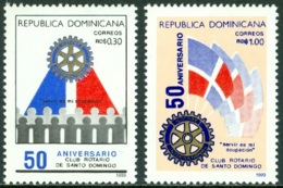 DOMINICAN REPUBLIC 1993 ROTARY CLUB INTERNATIONAL** (MNH) - Dominicaine (République)