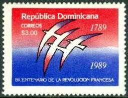 DOMINICAN REPUBLIC 1988 FRENCH REVOLUTION BICENTENARY** (MNH) - Dominican Republic