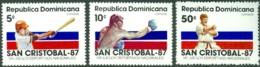 DOMINICAN REPUBLIC 1987 NATIONAL GAMES** (MNH) - Dominican Republic