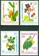 DOMINICAN REPUBLIC 1986 MEDICINAL PLANTS** (MNH) - Dominican Republic