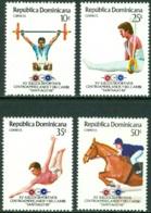 DOMINICAN REPUBLIC 1986 CENTRAL AMERICAN AND CARIBBEAN GAMES** (MNH) - Dominican Republic