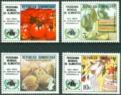 DOMINICAN REPUBLIC 1974 WORLD FOOD PROGRAM** (MNH) - Dominican Republic