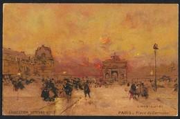 CPA-FRANCE- PARIS-Place Du Carrousel--COLLECTION LEFEVRE-UTILE---LOIR LUIGI - Plätze