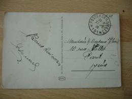 Occupation Allemagne Poste Aux Armees 191 Cachet Franchise Postale Militaire Guerre 1418 - Postmark Collection (Covers)