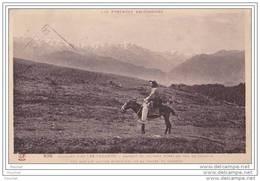 09) Environs D´Ax Les Thermes.- (Ariège) Passage Du Facteur Rural à Dos D´âne Au Col De Chioula - Ax Les Thermes