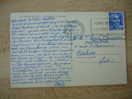 Flamme Flier Montpellier Centralisateur Foire Internationale Vigne Et Du Vin - Poststempel (Briefe)