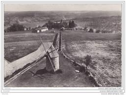 46) Cieurac.- (Lot) En Avion Au Dessus De... Le Moulin à Vent - France