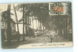BENIN CPA COTONOU , AVENUE DU GRAND HOTEL DE LA PLAGE - Benin