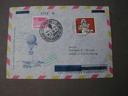 Sieger Ballonfahrt 1958 - Briefe U. Dokumente