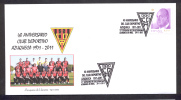 SPAIN ESPAGNE 2011. 40 ANNIVERSARY OF FOOTBALL TEAM CLUB DEPORTIVO AZUQUECA.  AZUQUECA DE HENARES. GUADALAJARA - Beroemde Teams