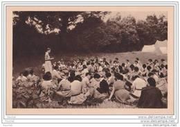 Camp De Cheftaines, Palabre Matinale - (Fédération Française Des éclaireuses à Paris - Scout - Scoutisme) - Scouting