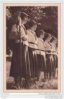 Chez Les Eclaireuses : Le Clan   - (Fédération Française Des éclaireuses à Paris - Scout - Scoutisme) - Scoutismo