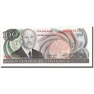 Billet, Costa Rica, 100 Colones, 1992, 1992-06-17, KM:258, NEUF - Costa Rica