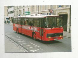 Cp , Automobile , Bus & Autocars , POMPIERS , 54, Nancy , Poste De Commandement Mobile Saviem , Vierge ,1993 - Autobús & Autocar