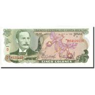 Billet, Costa Rica, 5 Colones, 1986, 1986-04-02, KM:236d, NEUF - Costa Rica