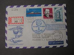 Hcochalpen Postflug Sieger   Ballonfahrt 1957 - [7] Federal Republic