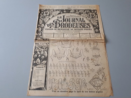 Revue Ancienne Le Journal De La Broderie N° 58  1920 - Riviste: Abbonamenti