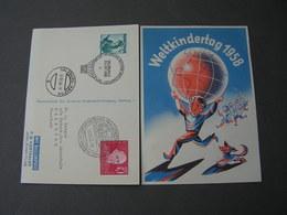 Salzburg SST    Ballonfahrt 1958 - Ballonpost