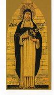 SANTINO Image Pieuse Image Religieuse Holy Card Santa Margherita Di Ungheria - Religione & Esoterismo