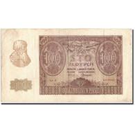 Billet, Pologne, 100 Zlotych, 1940, 1940-03-01, KM:97, TTB - Poland