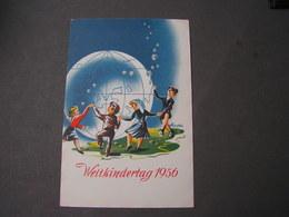 Postflug  Linz Weinachten   Ballonfahrt 1955 - Ballonpost