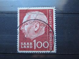 VEND BEAU TIMBRE DE SARRE N° 380 !!! - 1957-59 Federazione