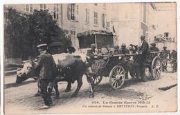 BRUYERES-LA GRANDE GUERRE-UN CONVOI DE BLESSES - Bruyeres