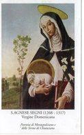SANTINO Pieuse Image Religieuse Holy Card Santa Agnese Di Montepulciano - Religione & Esoterismo