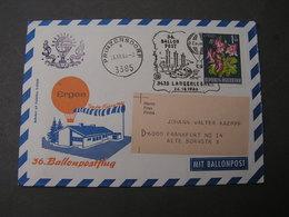 Prinzersdorf Ballonpost 1966 - Ballonpost