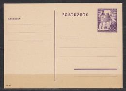 II.WK Generalgouvernement  Ganzsache MiNo. P 9 ** Ungebraucht - Besetzungen 1938-45