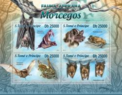 Sao Tome 2013 Fauna Bats - Sao Tome And Principe