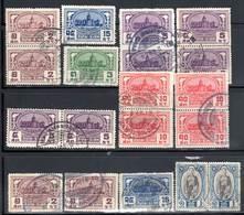 SIAM - 19 Timbres Obl (1928-39) - Siam